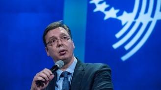 Вучич: Сърбия води трудни преговори със Запада