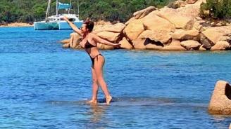 Дарина Павлова ходи по вода