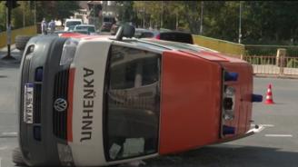 Линейка и джип се сблъскаха на кръстовище в Ямбол, пострада лекарка