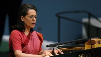 Соня Ганди застана отново начелона опозиционната партияИндийски национален конгрес