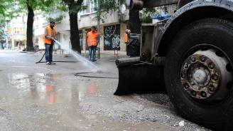 От утре мият централните улици и булеварди в София