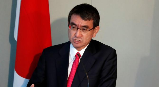Министърът на външните работи на Япония пристигна в София
