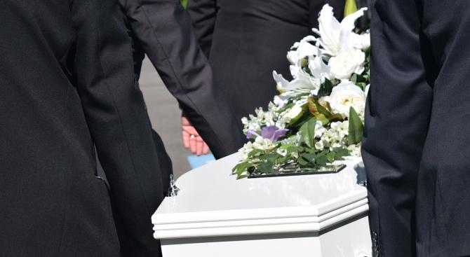 Снимка: Петимата загинали при експлозията на ракетен двигател руски инженери бяха погребани