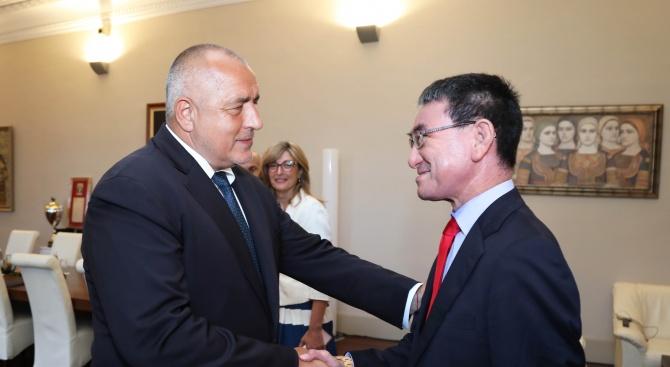 Борисов: Япония е приоритетен партньор и традиционен приятел на нашата страна