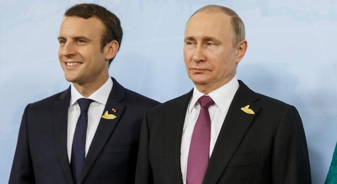 Държавният глава на Руската федерация Владимир Путин ще посети Франция