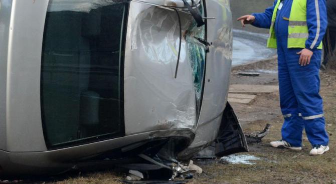 Катастрофа на пътя Враца-Мездра между ТИР и кола