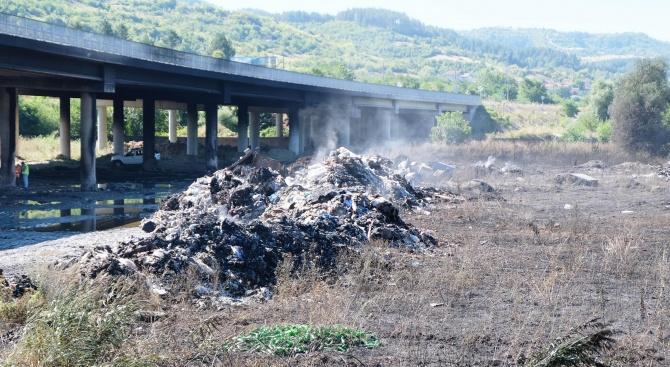 Досъдебно производство е образувано за възникналия пожар в района на