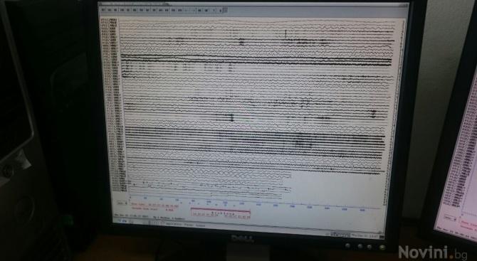 Земетресение с магнитуд 3,8 по Рихтер бе регистрирано днес в