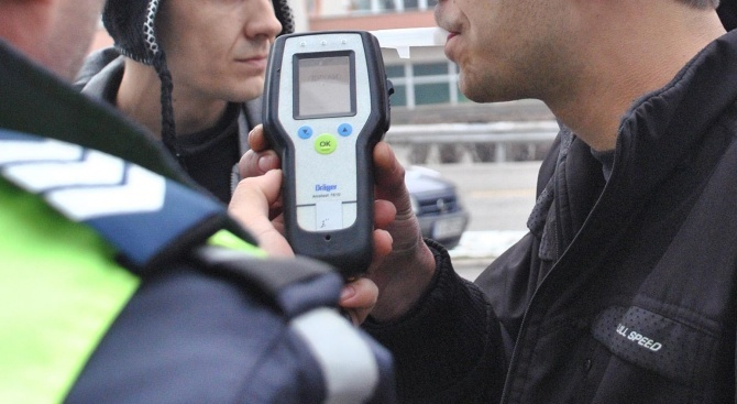 Заловиха трима пияни шофьори и в Хасковско