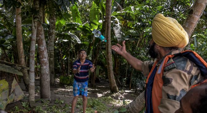 Над 270 са загиналите при мусонните дъждове в Индия