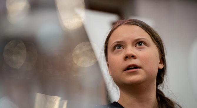 Шведската тийнейджърка и екоактивистка Грета Тунберг поема днес на трансатлантическо