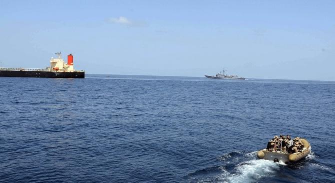 Снимка: Гибралтар прекрати делото срещу екипажа на иранския танкер