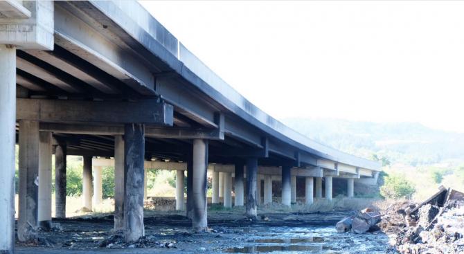 Пожарът край Дупница даде повод на Пътната агенция да разпореди