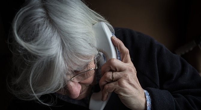 76-годишна жена е станала жертва на телефонна измама със сумата