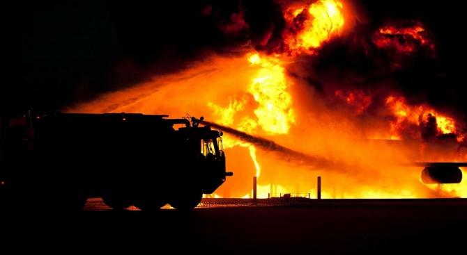 Има задържан за избухналия пожар в област Аркадия в Гърция,