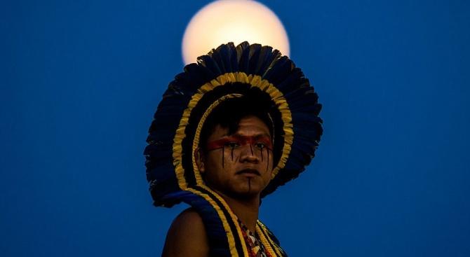 Индианци нахлуха в министерство в Бразилия