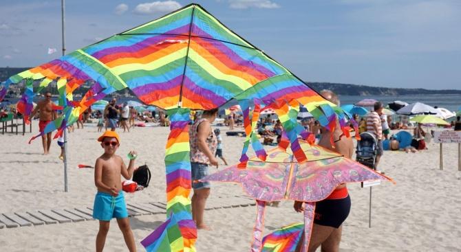 Във Варна започна Фестивалът на хвърчилата, което е едно от