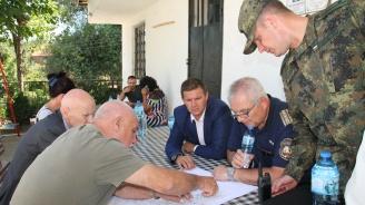 Пожарът между хасковските села Любеново, Брягово и Родопи е локализиран