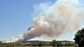 """В Дупница е обявено частично бедствено положение заради пожара на """"Струма"""""""