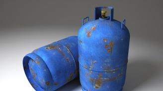 Газова бутилка се възпламени и прати мъж в болница с 50% изгаряния