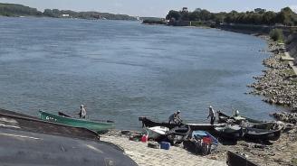 С 15 см се е понижило нивото на река Дунав при Свищов