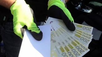 Спецпрокуратурата и ГДБОП удариха група за разпространение на фалшиви еврови банкноти