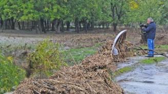 """Коритото на река Вировска е коригирано и почистено със средства от държавен фонд """"Бедствия"""""""