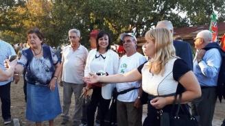 Нинова: Почитаме героите от Илинденско-преображенското въстание, показали силата на българския дух
