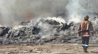 Задушлив дим се разнесе отново над Свищов