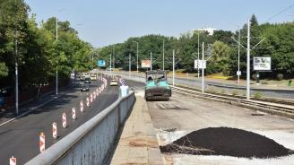 От утре се отваря за движение ремонтираният участък на бул. ''България''