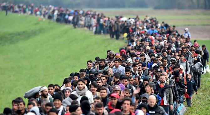 Бежанците в света достигнаха 70 милиона, което е рекорден брой