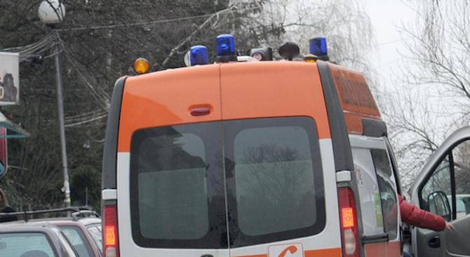 Снимка: Две момичета пострадаха при катастрофа в пловдивското село Градина