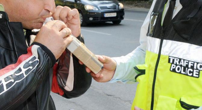 Хванаха трима пияни шофьори в Благоевградска област, съобщиха от пресцентъра