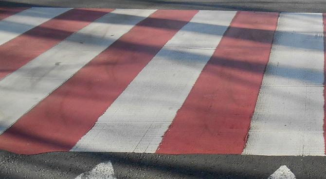 Снимка: Кола помете възрастна жена на пешеходна пътека