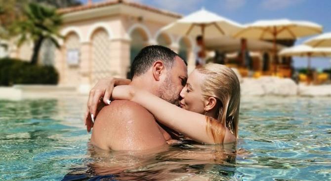 Емилия и Жорж Башур са на романтична почивка в Турция,