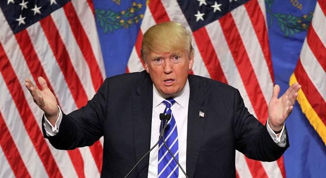 Американският държавен глава Доналд Тръмп потвърди пред журнаслисти в Ню