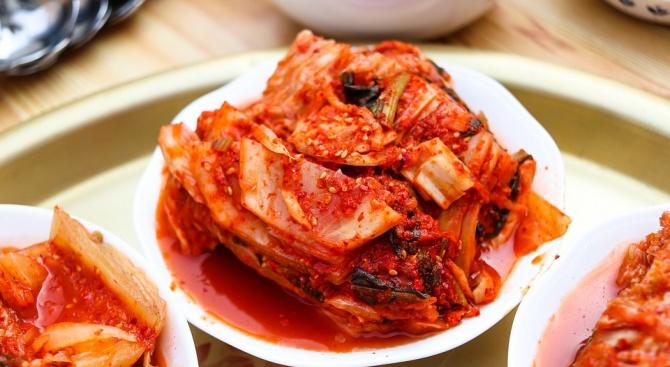 Снимка: Лютивото корейско ястие кимчи спира оплешивяване