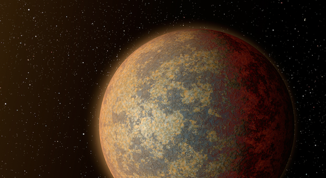 Астрономи наблюдаваха пряко с телескоп на НАСАскалиста екзопланета, голяма колкото