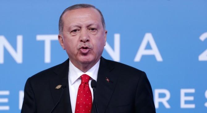 Посещението на турския президент Реджеп Тайип Ердоган, планирано за 29