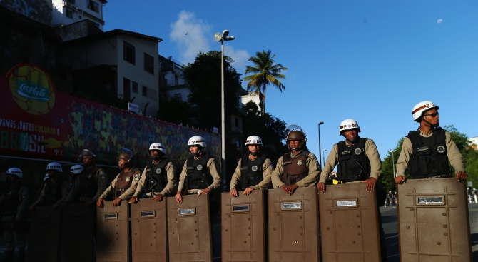 Снимка: Военен спретна заложническа драма в Рио ди Жанейро