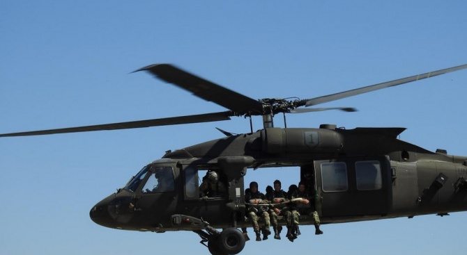 Днес, 20 август, военнослужещи от 68-ма бригада Специални сили за