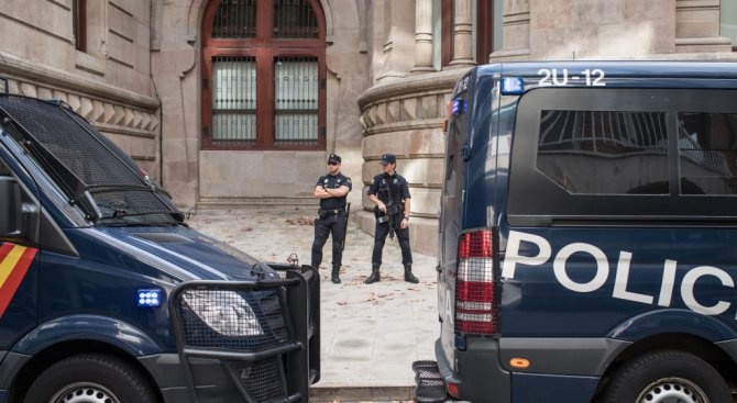 Властите в испанската столица са заловили тази сутрин на една