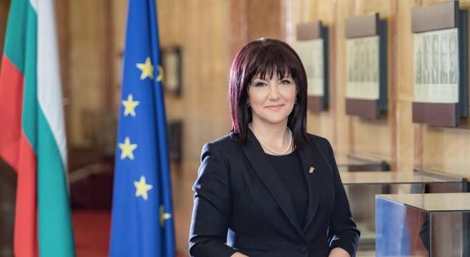 Председателят на Народното събрание Цвета Караянчева ще присъства на откриването