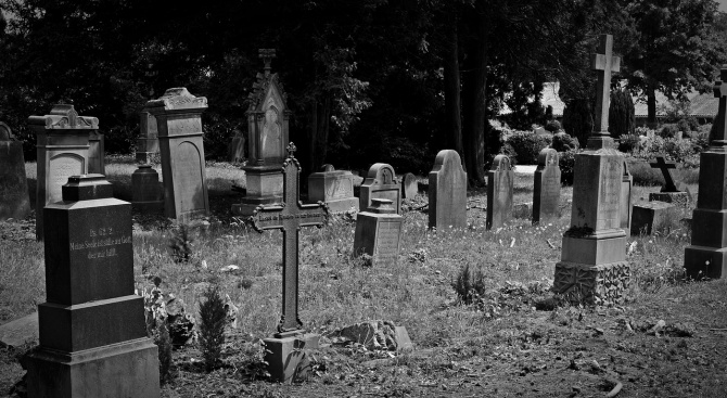 Германски ученици почистваха военни гробища край Сандански