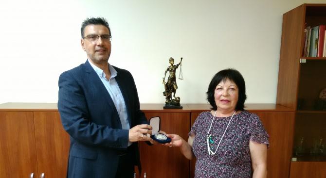 Дългогодишният прокурор от Окръжна прокуратура – Бургас г-жа Тиха Стоянова
