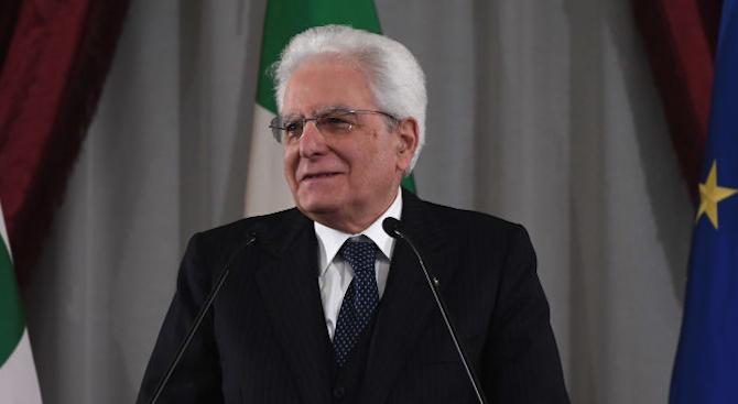 Президентът на Италия Серджо Матарела насрочи за 27 август нов