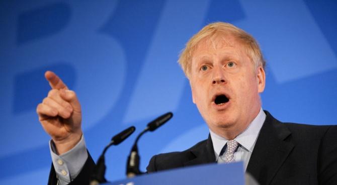 Британският премиер Борис Джонсън, който за първи път ще участва
