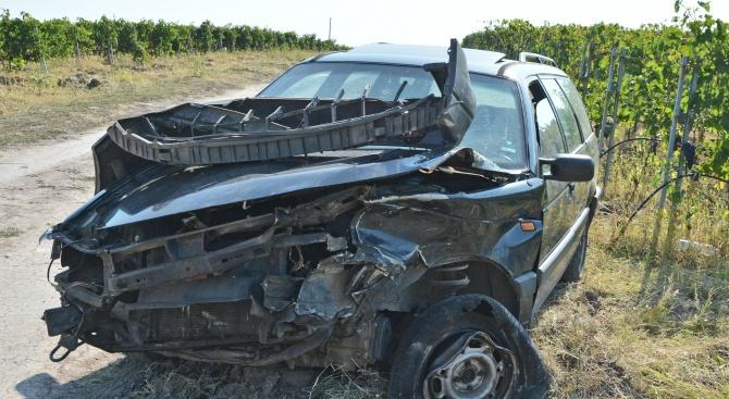 Два автомобила се блъснаха край Хасково