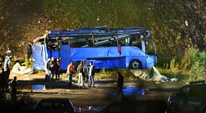 Една година от тежката автобусна катастрофа край Своге