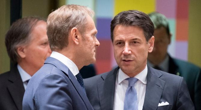 Италианският премиер Джузепе Конте предупреди колегите си от Г-7 днес